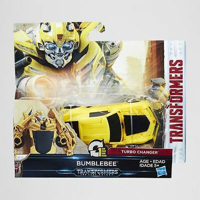 NEW Transformers The Last Knight 1 Step Turbo Changer Bumblebee