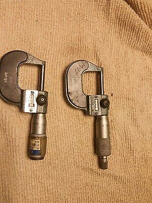 "Outside micrometer set 0-1"" and 0-25mm mititoyo"