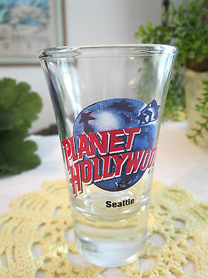 """Planet Hollywood--""""seattle"""" Shot Glass"""