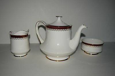 Paragon Holyrood - Fine Bone China - Made in England - Teapot Sugar Creamer