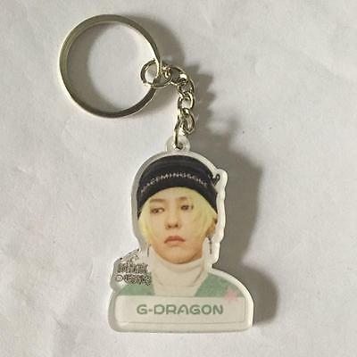 New Kpop G-dragon Q edition Acrylic Key Ring Keychain GD Ipc