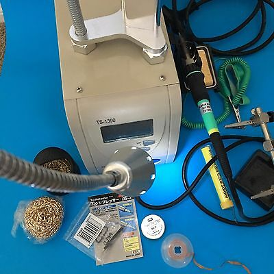 60W ESD Safe Lead Free Soldering Station with LCD Panel: TS1390