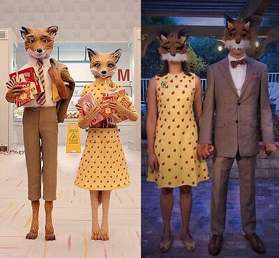 Fantastic Mr Fox Halloween Costume for Man and Woman