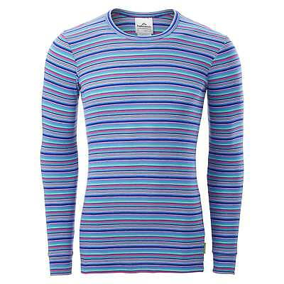 Kathmandu Polypro Unisex Mens Womens Long Sleeve Thermal Base Layer Top v2 Multi