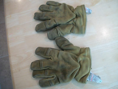 Morning Pride Gauntlet Firefighting Gloves size XL - USED - Worn/Stained