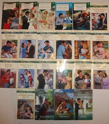 Lot of 22 Harlequin Romance Paperbacks.  New, Great Reads!!! R8