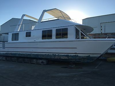 Houseboat Home Cruiser 48Ft Sea Venture - Restored To Glory