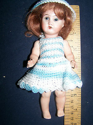 Antique Bisque Eichhorn Sohn Doll E&S Germany