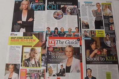 MARTA DUSSELDORP*Jenni Baird*Magazine Clippings *A Place To Call Home*Janet King