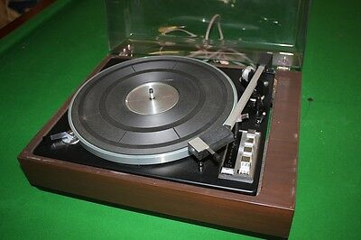 Vintage Benjamin Elac Miracord 50H Turntable Record Player Estate