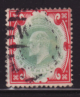 Great Britain Scotts #138  1sh carmine and dull green, used