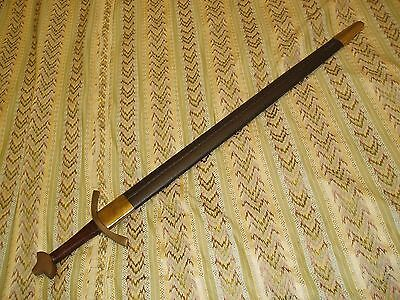 Scottish Broad Sword Used In Ceremonial Public Displays  Length 39 Inch Or 99Cm