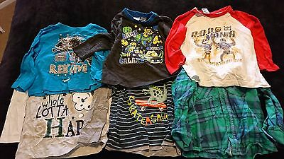 Boys size 2 long sleeve t shirts bulk