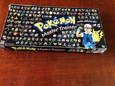 Vintage Pokemon Master Trainer Board game : Near Complete