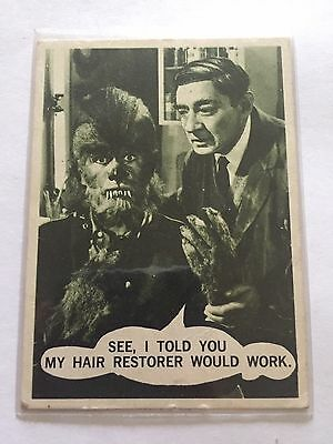 SCANLENS TOPPS TERROR TALES CARD - 26 See I Told You My Hair Restorer Would Work