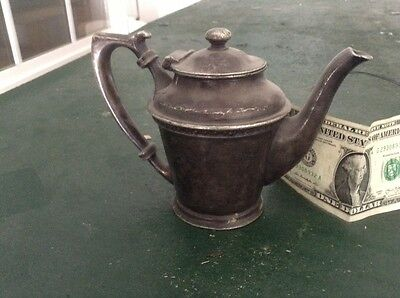 old metal creamer/ pitcher from Hotel