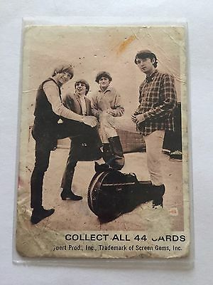 1966 SCANLENS The Monkees Collectible Card