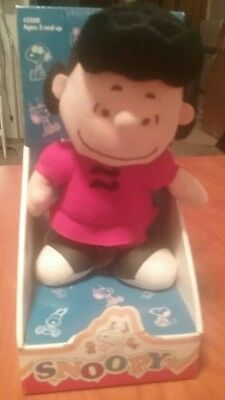 1966 Vintage Collectible Lucy Doll Peanuts Gang - Charlie Brown In Original Box