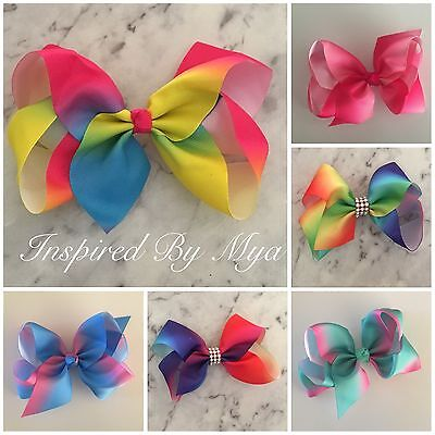 Girls Bow Hair Clip Womens Bow Large School Dance Party Hair Accessory Big Bling