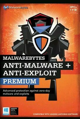 Anti-Malware Premium (3 Users) (1-Year Subscription) - Windows Fast Delivery