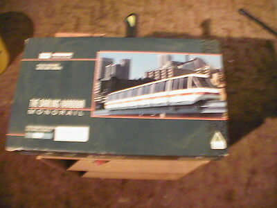 HO Scale monorail boxed