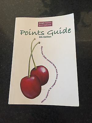 Weight Watchers Pure Points - Points Guide 5th Edition Pocket Book In Great Cond