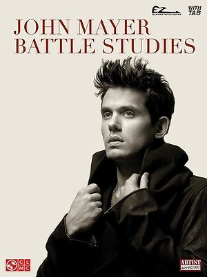 John Mayer - Battle Studies - Easy Guitar Music Book with Notes & Tab