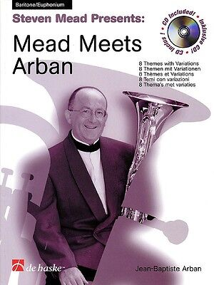 Mead Meets Arban - Baritone/Euphonium TC Music Book with CD