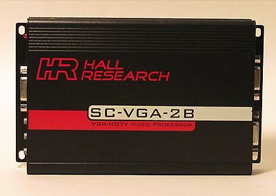 Hall Research SC-VGA-2B VGA/HDTV  Mirror & Rate Converter - Upgraded - Excellent