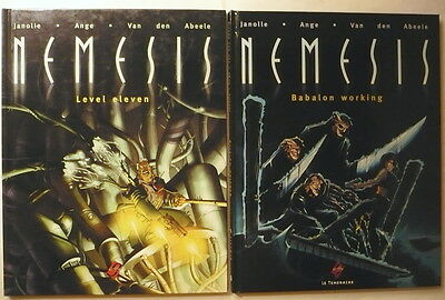 NEMESIS tomes 1+2 en EO Le Téméraire 1997-99 TBE  Level Eleven + Babalon Working