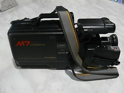 Vintage Panasonic VHS HQ Movie Camera with all Accessories
