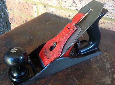Vintage Sears No 4 Type Wood Plane. Made In England