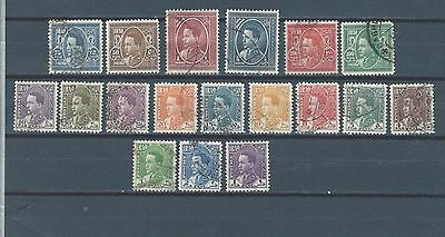 MIDDLE EAST Iraq Irak King Ghazi complete stamp set to  1 D (A)