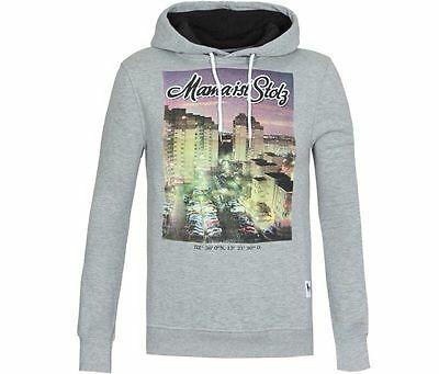 Pull sweat homme à capuche MAMA IST STOLZ Taille S  Neuf Val:79€