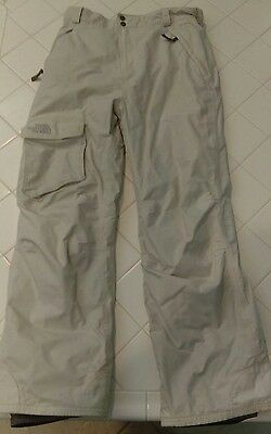 The North Face Off-White Snow/Ski Outerwear Pants EUC Hyvent