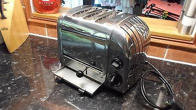 Beautiful professionally refurbished  Dualit 3 slice Extra Wide Slot Toaster