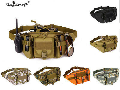 Outdoor Tactical Waist Bag Fanny Pack Waterproof Military Army Bag Hip Pouch