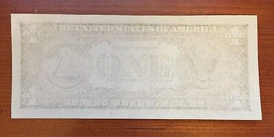 1957A $1 Silver Certificate Insufficient Inking Error Note (6759A)