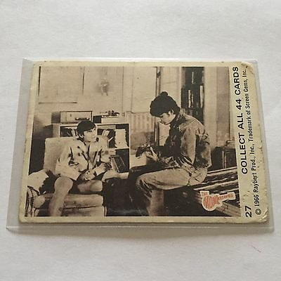 1966 SCANLENS The Monkees Collectible Card #27