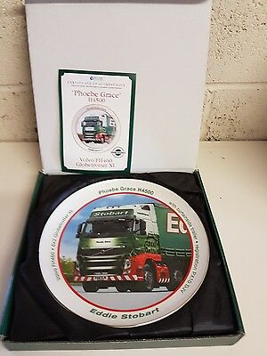 Eddie Stobart Phoebe Grace porcelain decorative plate boxed with certificate