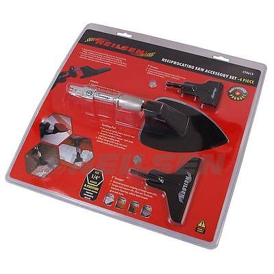 Neilsen Reciprocating Saw Accessories Kit Sander Scraper Attachments   0613