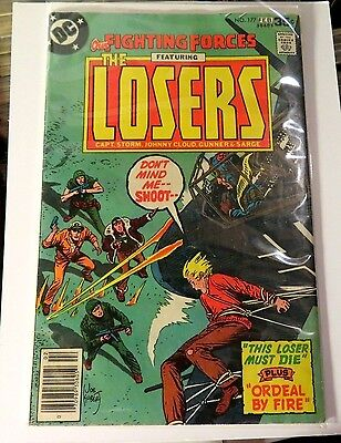 Our Fighting Forces The Losers #177 DC Comics Bronze Age CB2601