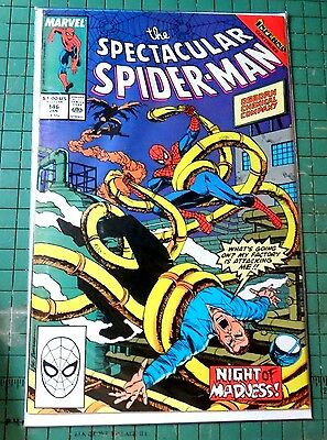 The Spectacular Spiderman #146  Marvel Comics Copper Age CB646