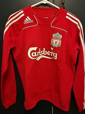 liverpool adidas training top