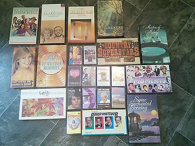 Collection of Vintage Music Cassette Tapes