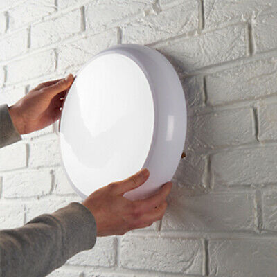 LED Aminity Lighting Emergency/Standard/Sensor 16W 2D IP54 White/Chrome Fitting