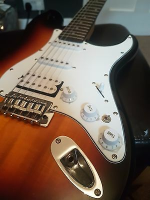 Aria STG series Electric Guitar (with amplifier and carrier bag)