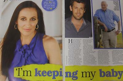 GEORGIE PARKER*Roo Stewart Home And Away*MAY 2017 Australian Magazine Clipping