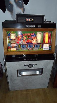 A truly beautiful fully restored Bally Mazooma Bell Console  Gaming  Machine!