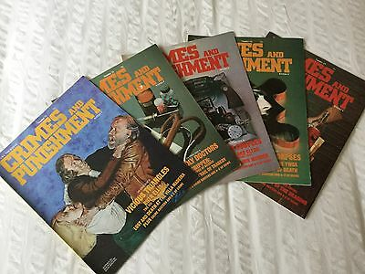 Job Lot Crimes And Punishment Magazine Issues 11,12,13,14 And 15
